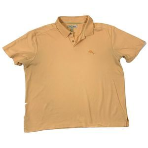 Tommy Bahama Men's 2XXL Orange Polo